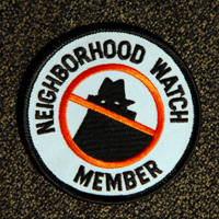 Neighborhood Watch Member Patch