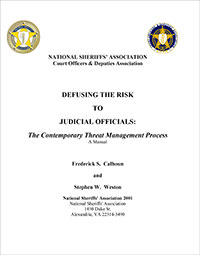 Defusing the Risk to Judicial Officials